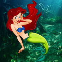 Free online flash games - Underwater World Mermaid Rescue game - WowEscape