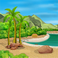 Free online flash games - Pretty Island Escape game - WowEscape