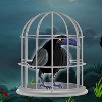 Free online flash games - Dark Fantasy Crow Escape game - WowEscape