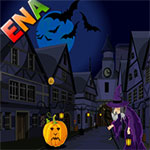 Free online flash games -  Halloween Town Escape game - WowEscape
