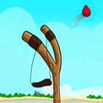 Free online flash games - Angry Birds Slingshot game - WowEscape