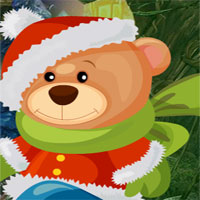 Free online flash games - G4k Christmas Teddy Bear Escape  game - WowEscape