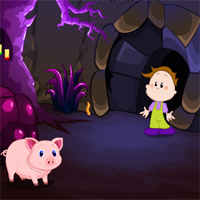 Free online flash games - MirchiGames Forsaken Mines Escape game - WowEscape