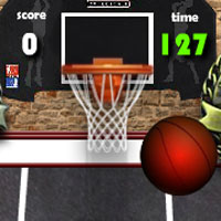 Free online flash games - Cage Basketball Challenge game - WowEscape