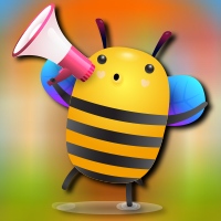 Free online flash games - AvmGames  Happy Honey Bee Escape game - WowEscape