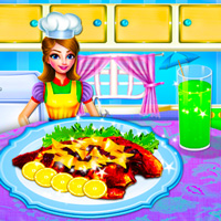 Free online html5 games - Cooking Fresh Red Fish game