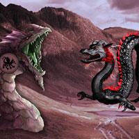 Free online flash games - Big Dragon Land Escape game - WowEscape