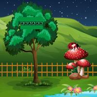 Free online flash games - G2J Fairy Mushroom House Escape  game - WowEscape