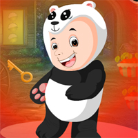Free online flash games - G4K Baby Panda Boy Escape game - WowEscape