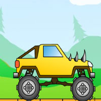 Free online flash games - Big Monsters Racing Lagged game - WowEscape
