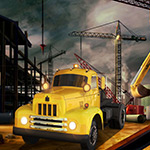 Free online flash games - Construction City Cargo game - WowEscape