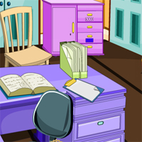 Free online flash games - GelBold Study Room Escape game - WowEscape