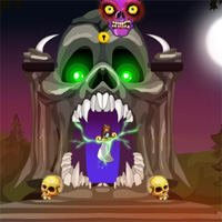 Free online flash games - Games4Escape Halloween Day Escape 2017 game - WowEscape
