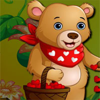 Free online flash games - AVM Valentine Bear Escape game - WowEscape