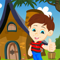 Free online flash games - G4K Boy Rescue From Forest House game - WowEscape