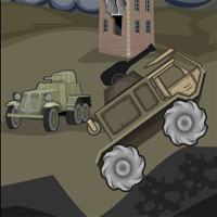 Free online flash games - Trucks At War game - WowEscape