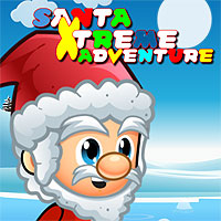 Free online flash games - Santa Xtreme Adventure game - WowEscape