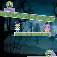 Free online flash games - Colorful Ghosts game - WowEscape