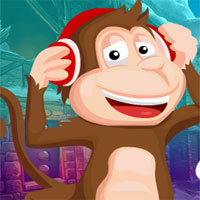 Free online flash games - G4K Music Lover Monkey Escape
