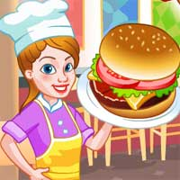 Burger Shop NeonGames