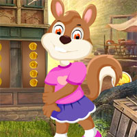 Free online flash games - Games4King Girl Squirrel Rescue Escape  game - WowEscape