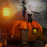 Free online flash games - Escape Halloween Cementry 2 game - WowEscape