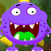 Free online flash games - G4k Cartoon Vast Creature Escape  game - WowEscape