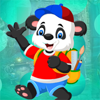 Free online flash games - G4K Artsy Panda Bear Escape