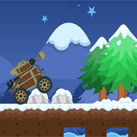 Free online flash games - Winter Tank Adventure game - WowEscape