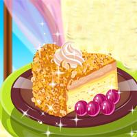 Free online flash games - Hazelnut Praline Cake Cookingpink game - WowEscape