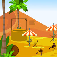 Free online flash games - Escape Deserted Place game - WowEscape