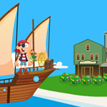 Free online flash games - Pirates Island Escape-Final- Unlock Version game - WowEscape