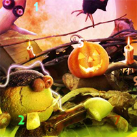 Free online flash games - Fantasy Halloween Hidden Numbers game - WowEscape
