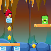 Free online flash games - Angry Birds vs Bad Pig game - WowEscape