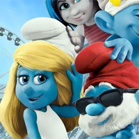 Free online flash games - HOG The Smurf 2 Hidden Spots game - WowEscape