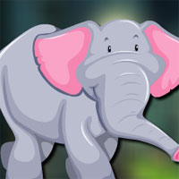 Free online flash games - Avm Adorable Elephant Escape