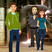 Free online flash games - Kidnapper Factory Escape
