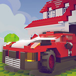 Free online flash games - Block Town Parking game - WowEscape