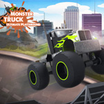 Free online flash games - Monster Truck Ultimate Playground game - WowEscape