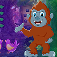 Free online flash games - Lunacy Monkey Rescue game - WowEscape