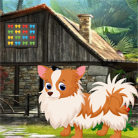 Free online flash games - Games4King Cute Puppy Rescue game - WowEscape