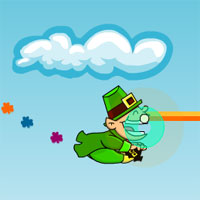 Free online flash games - Shamrock Streamer game - WowEscape