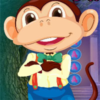Free online flash games - G4k Gentle Monkey Rescue