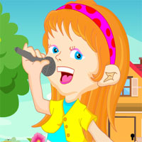 Free online flash games - Games4King Young Singer Girl Rescue Escape game - WowEscape