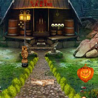 Free online flash games - Top10 Find The Halloween Cake game - WowEscape