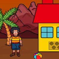 Free online flash games - G2J Cute Boy Hungry Escape game - WowEscape