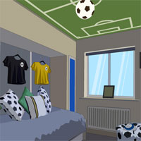 Free online flash games - Soccer House Escape game - WowEscape