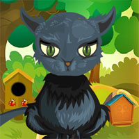 Free online flash games - G4K Black Cat Rescue 2 game - WowEscape