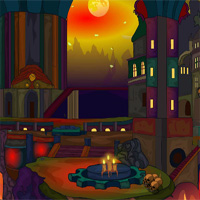 Free online flash games - EnaGames The Circle Fire Fort Escape game - WowEscape