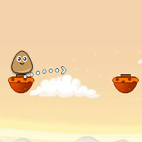 Free online flash games - Jump Pou Jump game - WowEscape